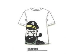 Tee Shirt silhouette Haddock S