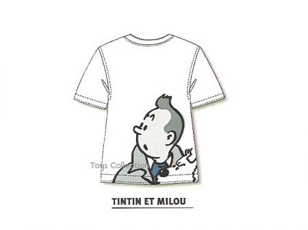 Tee Shirt silhouette Tintin S