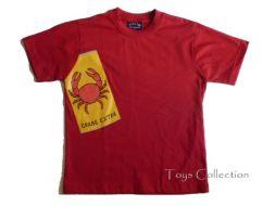 Tee shirt tintin crabe 12 ans