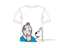 Tee shirt Tintin et Milou 8 ans
