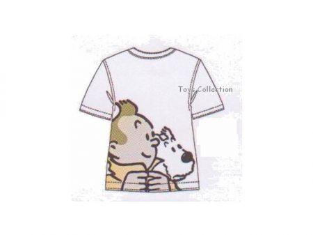 Tee Shirt Tintin imperméable et Milou 8 ans