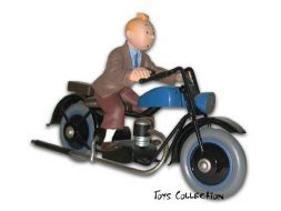 Tintin a moto #