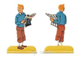 Tintin au journal