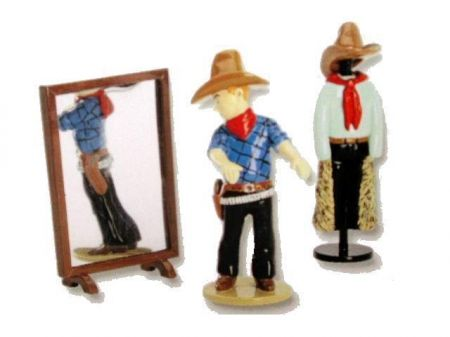 Tintin au magasin de vêtements