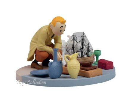 Tintin au marché aux puces