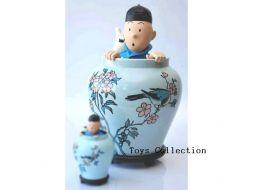 Tintin dans la potiche gm