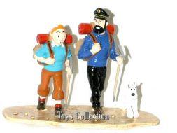 Tintin et Haddock au Tibet