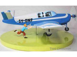 Tintin et l'avion Beechcraft Bonanza A35
