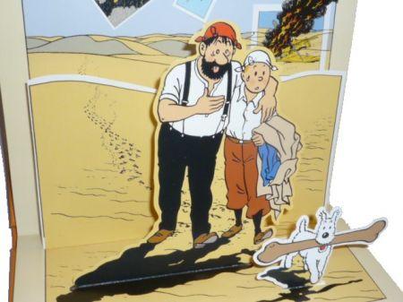 Tintin et le crabe aux pinces d'or