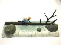Tintin et Milou cascade