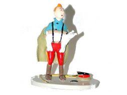 Tintin et Milou dans ses bretelles #
