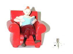 Tintin, et Milou fauteuil #