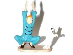 Tintin et Milou gymnastique #