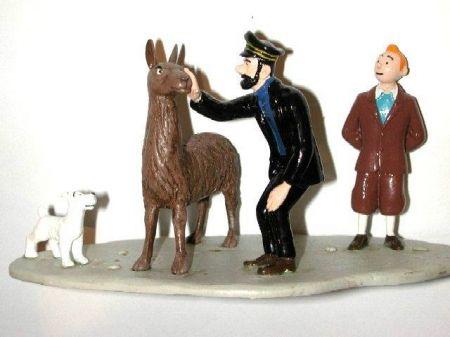 Tintin, Haddock et le lama #