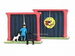 Tintin la salle d'Opium