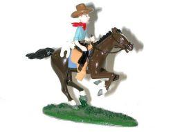 Tintin Milou à cheval