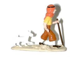 Tintin Milou dans le désert #