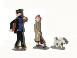 Tintin, Milou et Haddock baluchon #