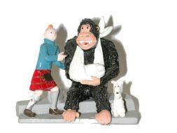 Tintin, Milou et le gorille #