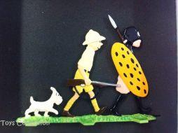 Tintin, Milou et le guerrier #