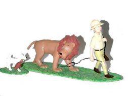 Tintin, Milou et le lion #