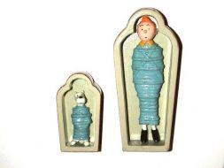 Tintin, Milou sarcophage #
