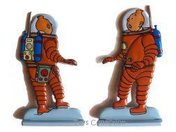 Tintin, On a marché sur la Lune