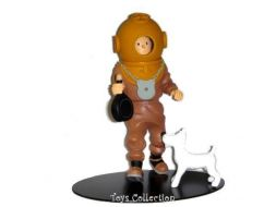Tintin plongeur #