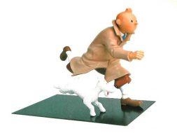 Tintin running