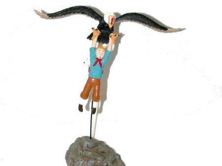 Tintin suspendu au condor #