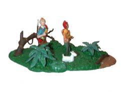 Tintin, Zorrino et Milou dans la jungle #