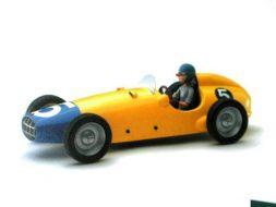 Turbo 5 jaune et bleu avec Fantasio#