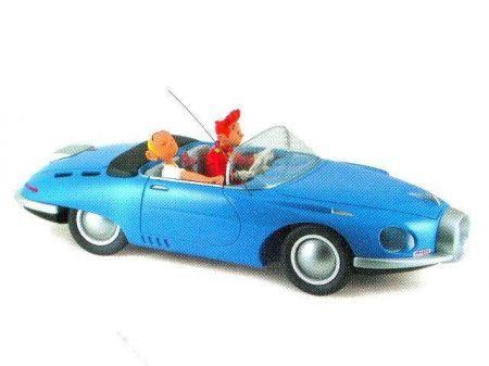 Turbo T1 bleue avec Spirou et Fantasio