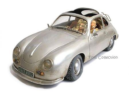 Voyage d'affaire en Porsche