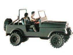 XIII avec Maria dans la Jeep #