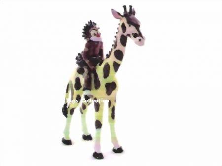 Zulu sur la girafe